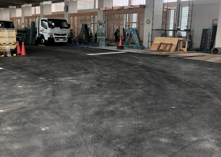 駅テナント新築工事